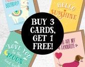 Cards Handmade, Greetings Cards, Card Box Set, Pack of Cards, Set of Cards, Cute Cards, Funny Cards, Cards UK, Birthday Card, Dachshund Card