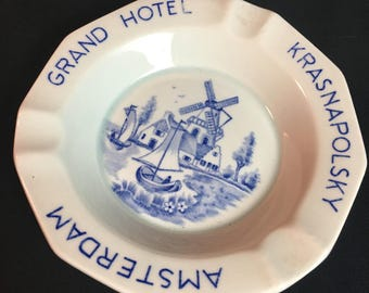 Grand Hotel Krasnapolsky Ashtray Amsterdam