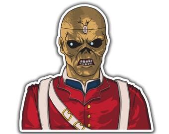 Iron Maiden Sticker - Trooper Eddie