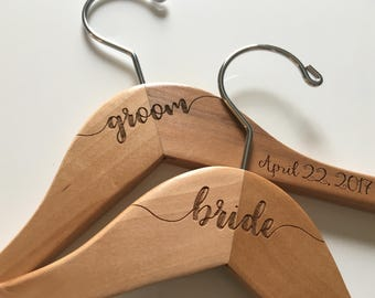 Wedding Hanger | Bride Hanger | Bridal Hanger | Wedding Dress Hanger | Bridesmaid Hangers | Personalized Hanger | Bridal Shower Gift | Bride
