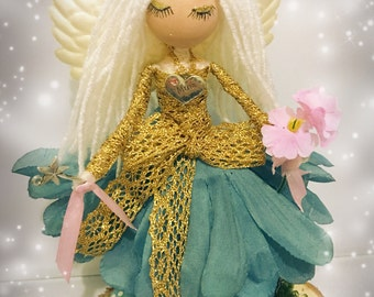 Flower fairy doll fairies accessory Mother's Day gift