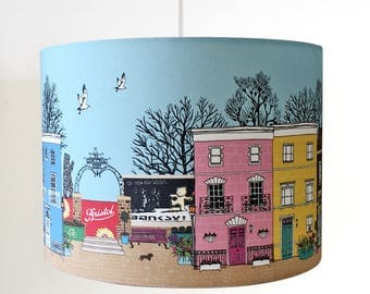 Love Bristol Handmade Pendant Lampshade in various sizes