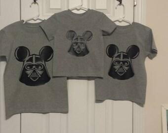 Darth Vader Mickey Mouse