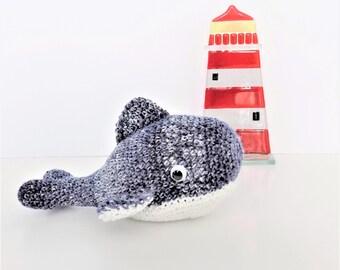 Little Blue Whale **crochet pattern only**