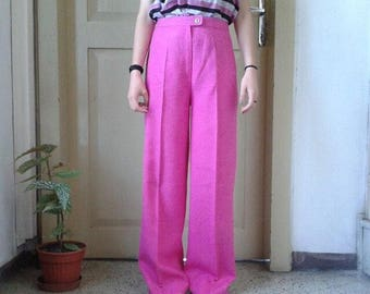Pink vintage pants