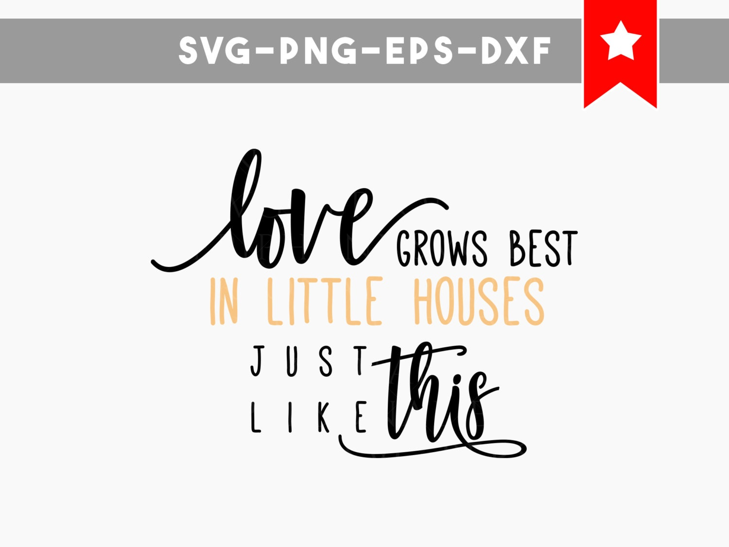 Download love grows best svg little houses svg home family quotes