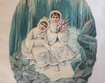 Die-Cut Icecave Girls