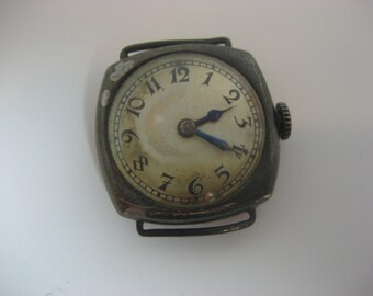 Rare Antique Concord Watch Sterling Silver