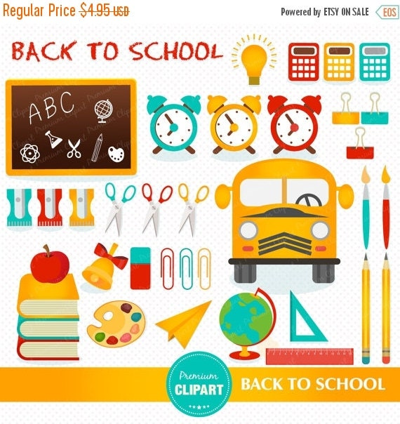 back to school bus clipart - photo #26