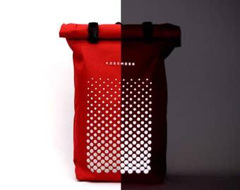 Laptop backpack / Laptop Rucksack / Waterproof backpack / Waterproof Minimalist Bike Bag / Reflective Bicycle Backpack / Cycling Backpack