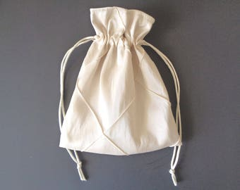 Purple drawstring bag drawstring bag bridesmaid gift