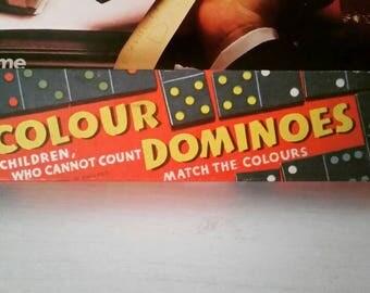 Vintage Colour Dominoes