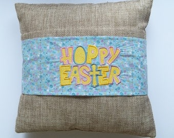 Hoppy Easter - Easter Decorative Pillow Sleeve/Wrap