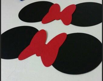 10 DIY Mickey or Minnie Inspired Plate Ears