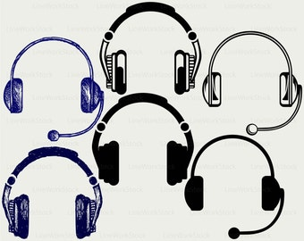 Headphone clipart – Etsy