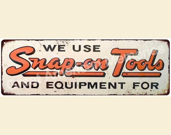 Old Tools and Equipment Vintage Look Reproduction 6x18 Metal Sign 6180026