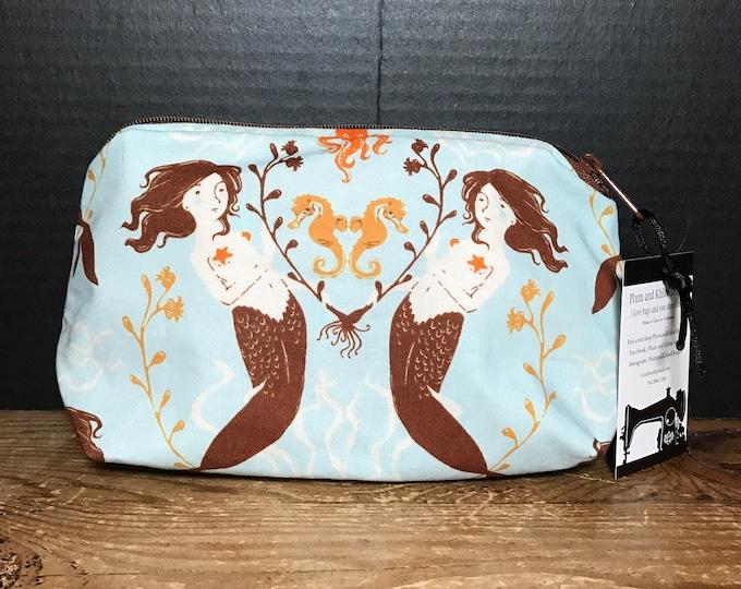 Mermaid Bag | make-up bag, fun bag, money bag, cosmetic bag, everything bag. PlumandKhloedesigns Bag