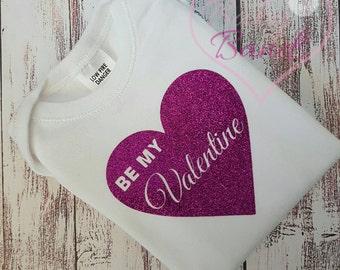 Be my Valentine top/romper