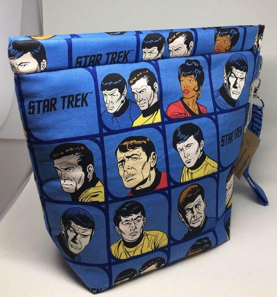 Medium Amy Project Bag, Snap Bag_Star Trek