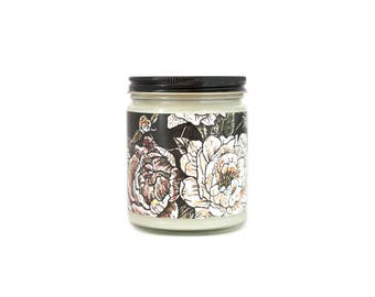 Featured Artist Collab 8oz Natural Soy Candle
