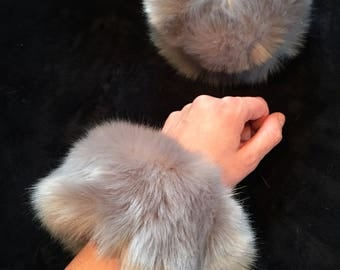 Faux Fur Cuffs Kitten Play