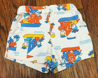 Canvas boat shorts