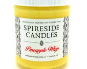 Pineapple Whip ® Candle - Spireside Candles - Disney Candles - 8 oz Jar