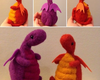 Chubby Orange Dragon
