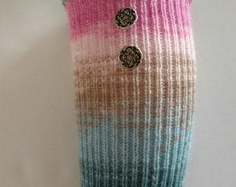 Pink Boot cuffs, Acrylic boot cuffs, boot liners, Victorian boot cuffs, Boho boot socks, Leg Warmers, Teal boot cuffs, Aqua Leg Warmers
