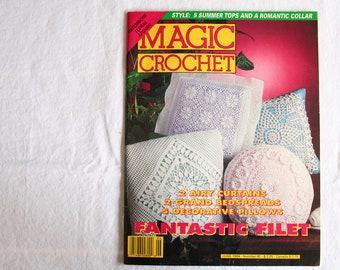 Magic Crochet Magazine - Number 90 - June 1994 Vintage