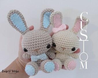 Custom Petite Bunny ~ Amigurumi ~ Crochet Bunny