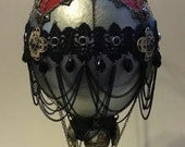 One of a Kind Steampunk Style Ostrich Egg Hot Air Balloon