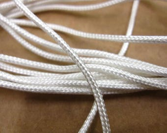 3mm Nylon Cord Rope Curtain Track Braided Thread Swish Harrison Drapes per metre