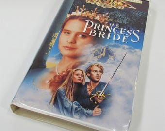 The Princess Bride, Classic 1987 VHS Movie, Rob Reiner Film Cary Elwes Robin Wright