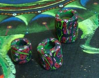 Dreadlock bead, Dreadpearl, Rastapearl, Dreadlock Jewelry, Dreadlockpearl