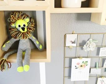 Sock Plush (Lion or Rabbit)