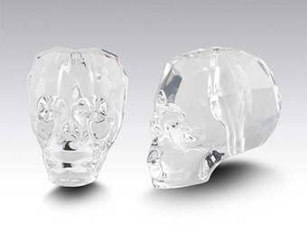 Swarovski Crystal Elements Beads 1Pc 5750 13MM SKULL Faceted Bead - Available in a Variety of Colors