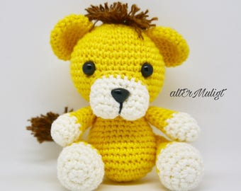 PDF Pattern altErMuligt's Baby Lion approximately 10 cm
