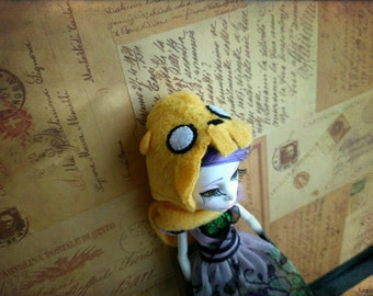 Jake the dog hat for Ever After High and Monster High