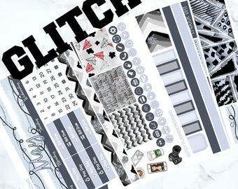 GLITCH - May Monthly Sticker Kit