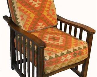 Jazz Age Kilim Chair (10855)