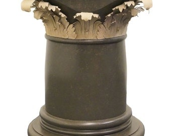 High End Designer Neoclassical Style Table Pedestal