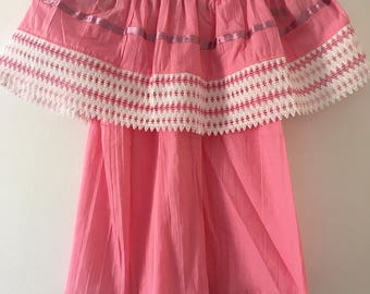 Campesina mexican pink blouse