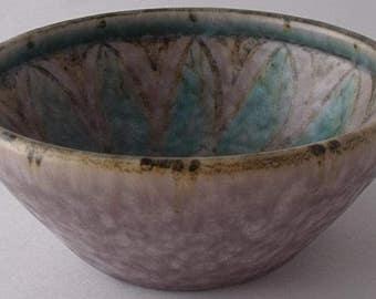 Pilkingtons Royal Lancastrian Pottery Lapis Ware Bowl