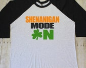 Shamrocks and shenanigans, Saint Patricks day shirt women, Lucky shirt, Shamrock shirt, St Patricks day shirt, Irish shirt, Kiss me RAG095