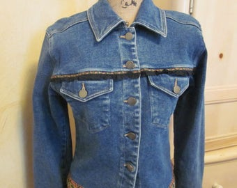 Carol Little Denim Jacket, Vintage Clothing Sale, Priced to Sell