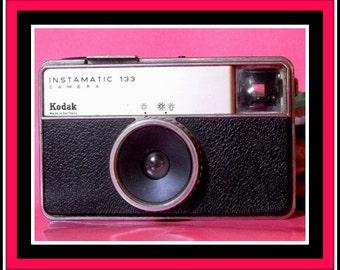 Vintage Kodak Instamatic 133 analog camera.