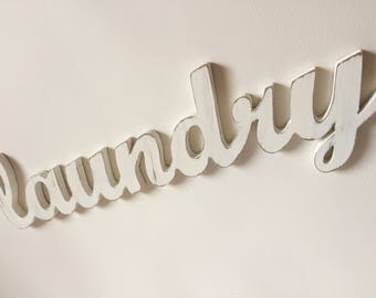 Laundry Room Decor - Laundry Sign - Wood Signs - Rustic Home Decor -  Laundry -