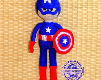 captain america doll boys toy gift for boy dolls superhero rag doll plushie nursery toy hero boy birthday gift boy shower gift doll avengers