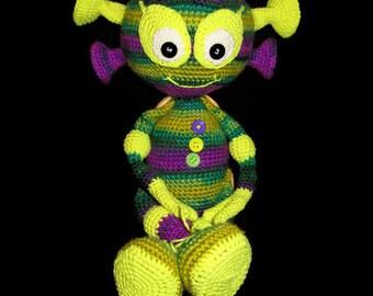 alien toy monster doll boy gift boy child soft toy nursery decor stuffed toys boy doll toys gift brother gift boyfriend gift kid plush doll